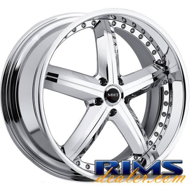 Pictures for MHT Forged MONTAGE (5-LUG) chrome