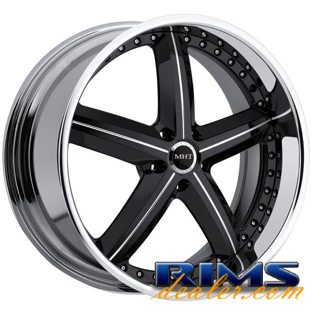 Pictures for MHT Forged MONTAGE (5-LUG) black gloss
