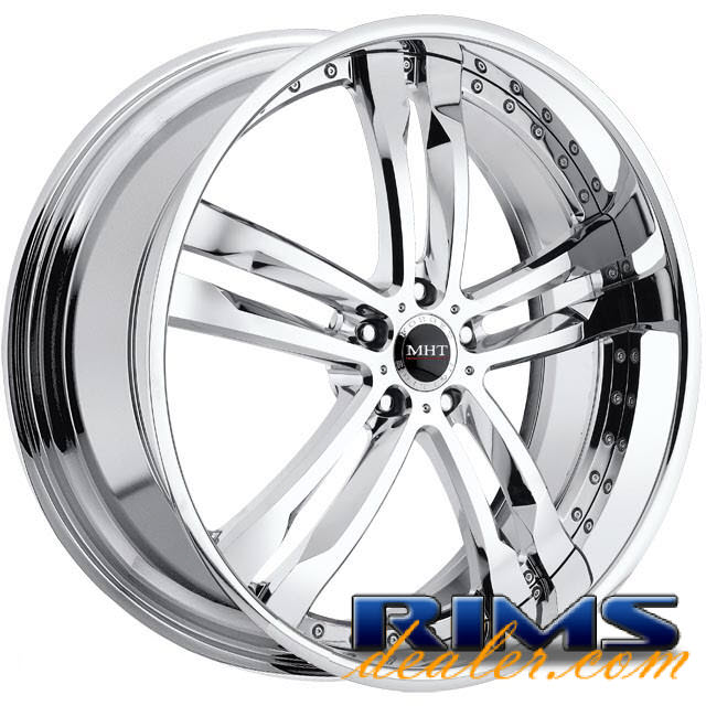 Pictures for MHT Forged PHASE (5-LUG) chrome