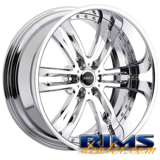 Pictures for MHT Forged PHASE (6-LUG) chrome