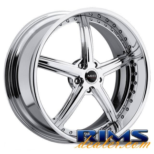 Pictures for MHT Forged STILLETO (5-LUG) chrome