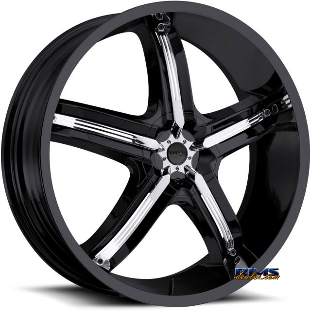 Pictures for Vision Wheel Bel-Air 5 459 black flat