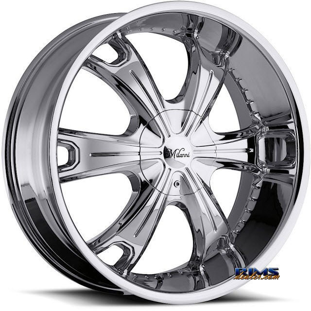 Pictures for Vision Wheel Milanni Stellar 452 chrome