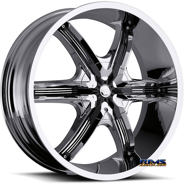 Pictures for Vision Wheel Milanni Bel-Air 6 460 chrome