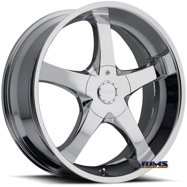 Pictures for Vision Wheel Milanni Vengeance FWD 465 chrome