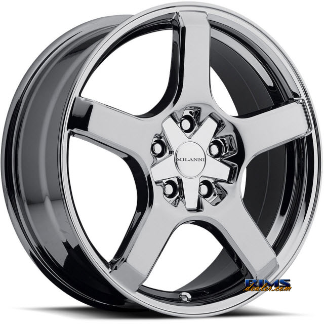 Pictures for Vision Wheel Milanni VK-1 464 (5 lugs only) chrome