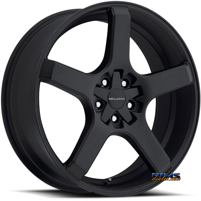 Pictures for Vision Wheel Milanni VK-1 464 black flat