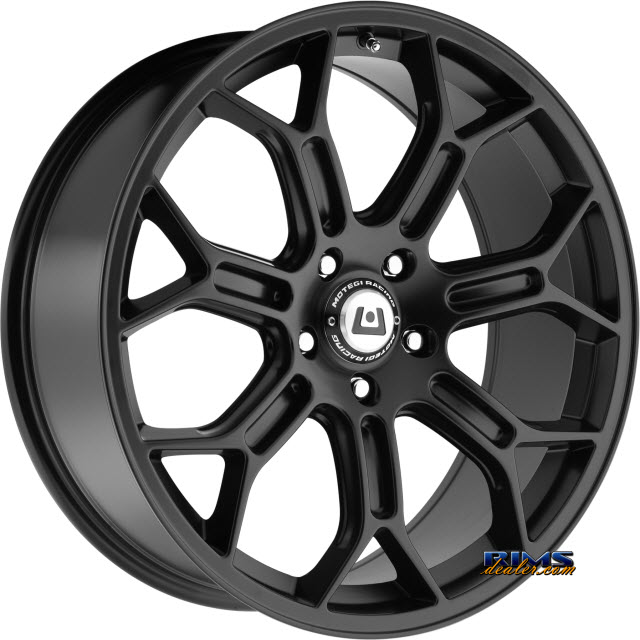 Pictures for Motegi Racing MR120 Techno Mesh S SATIN BLACK
