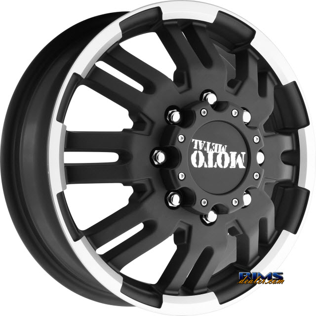 Pictures for MOTO METAL MO963 Black Flat
