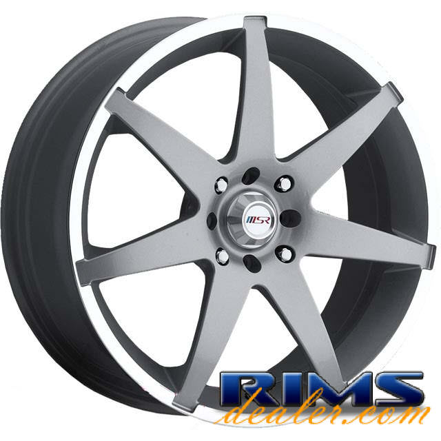 Pictures for MSR Style 126 silver gloss
