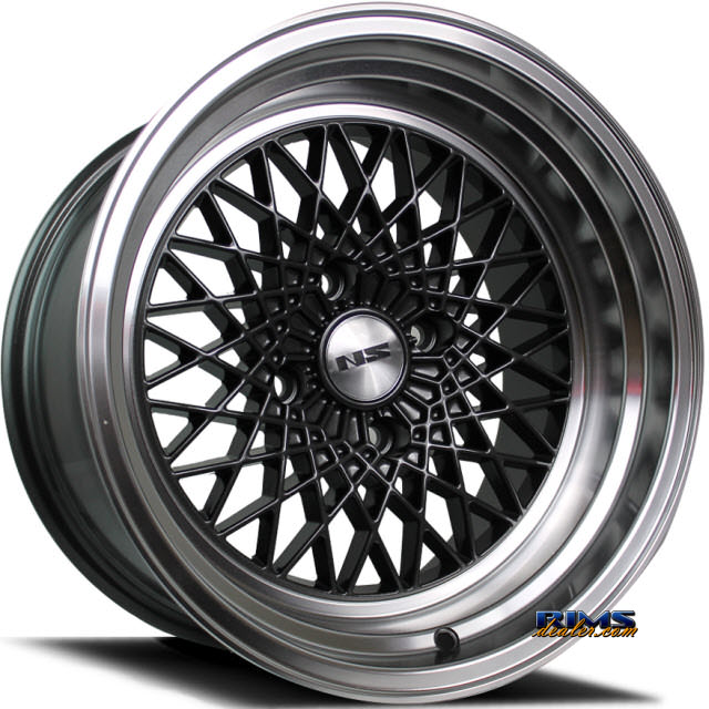 Pictures for NS Drift Wheels DV2 Machined w/ Gunmetal