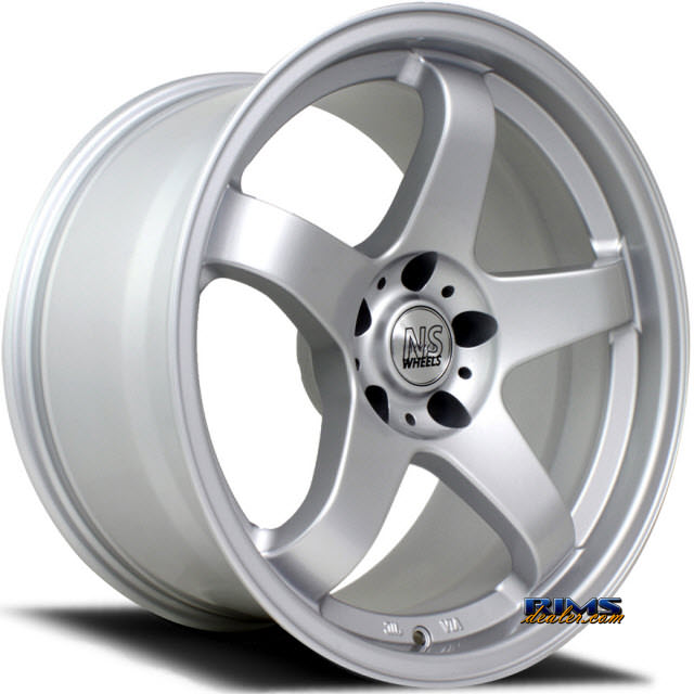 Pictures for NS Drift Wheels M01 Silver Flat