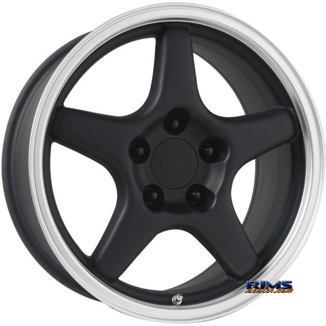 Pictures for OE Performance Wheels 103B Machined w/ Black