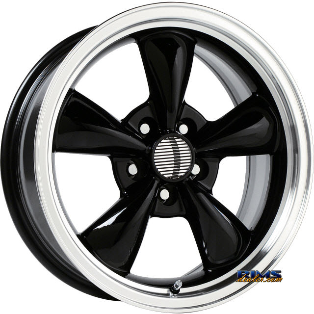 Pictures for OE Performance Wheels 106B Machined w/ Black