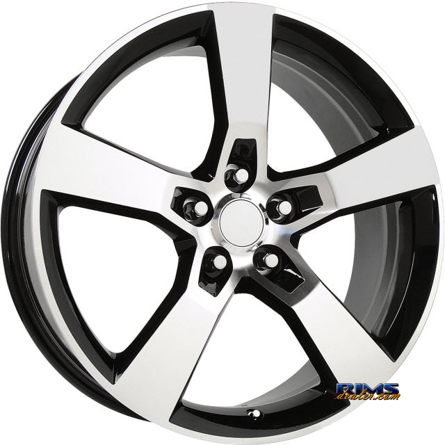 Pictures for OE Performance Wheels 124B Machined w/ Black