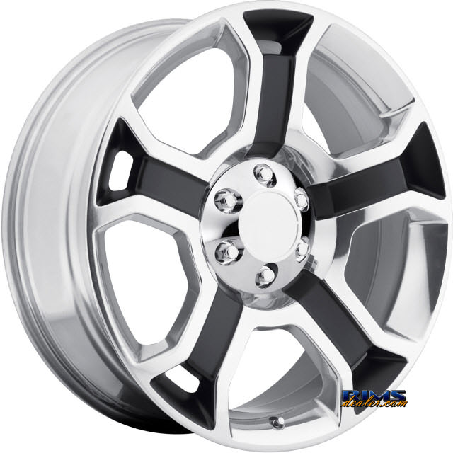 Pictures for OE Performance Wheels 127P Machined w/ Black