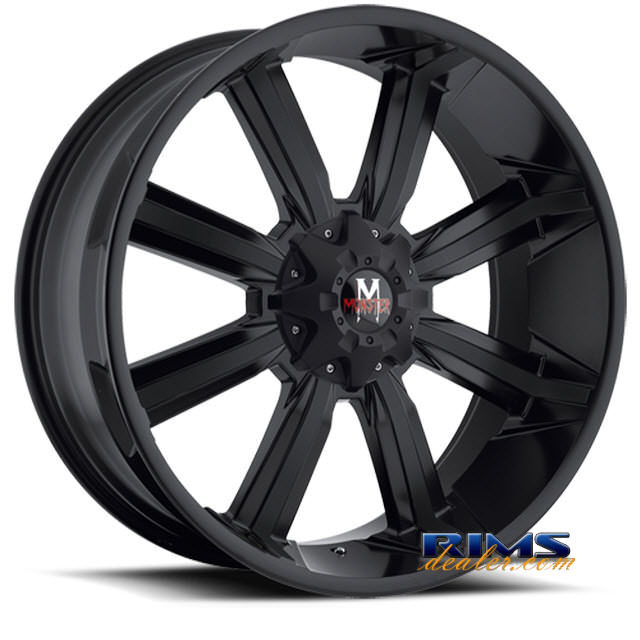 Pictures for Off-Road Monster M03 black flat