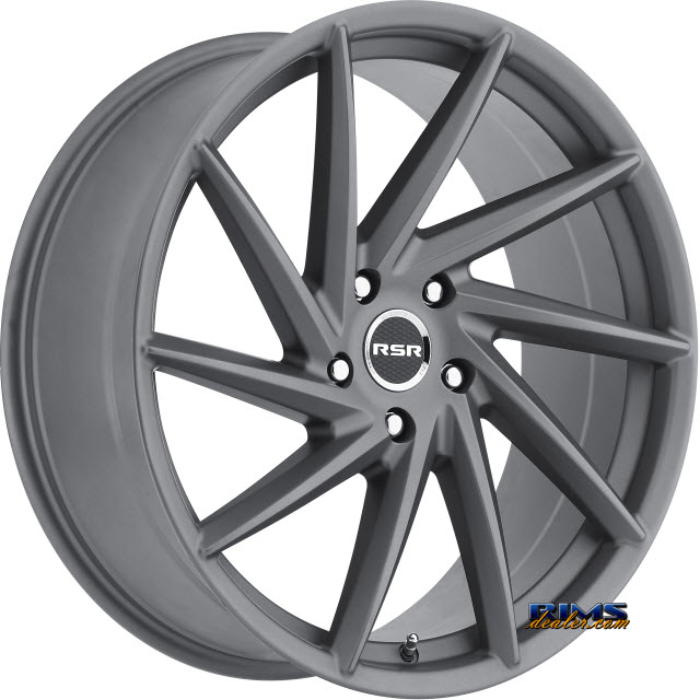 Pictures for RSR Wheels R701 gunmetal flat