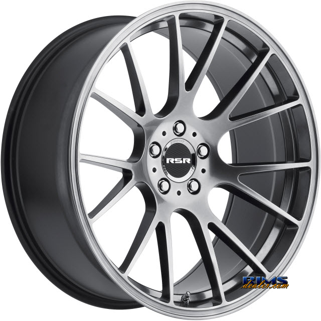 Pictures for RSR Wheels R801 gunmetal flat