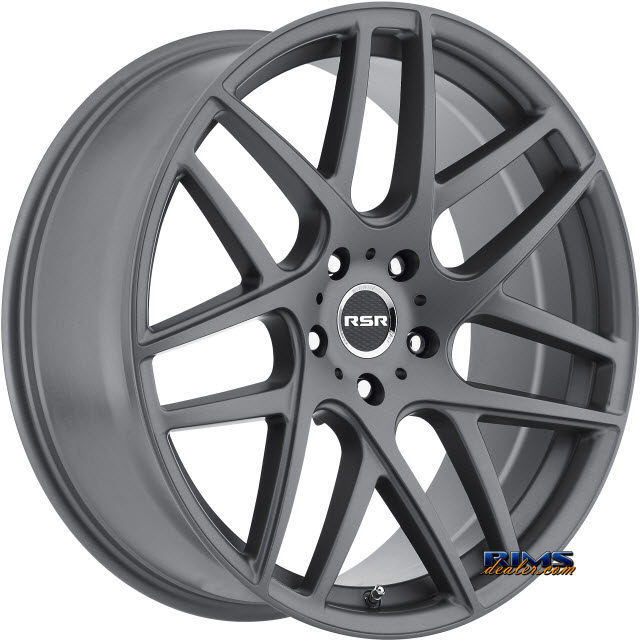 Pictures for RSR Wheels R702 Gunmetal Flat