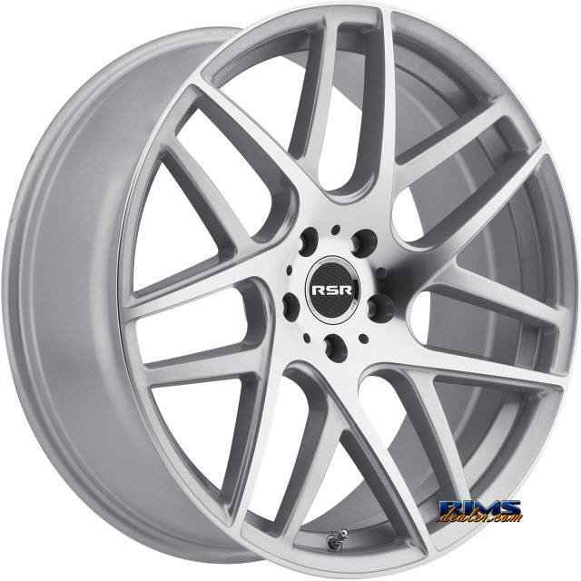 Pictures for RSR Wheels R702 Silver Flat
