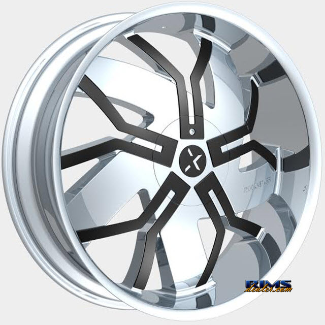 Pictures for ROCK-N-STARR WHEELS 965 FLOYD Chrome