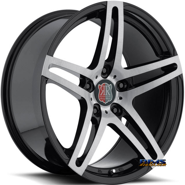Pictures for Roderick Luxury Wheels RW5 machined w/ black