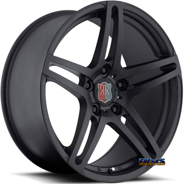 Pictures for Roderick Luxury Wheels RW5 black flat
