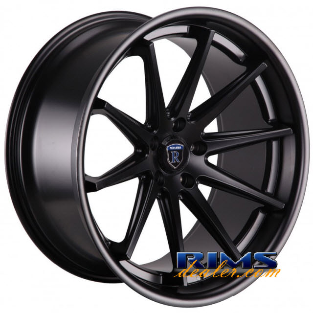 Pictures for Rohana RC10 black flat