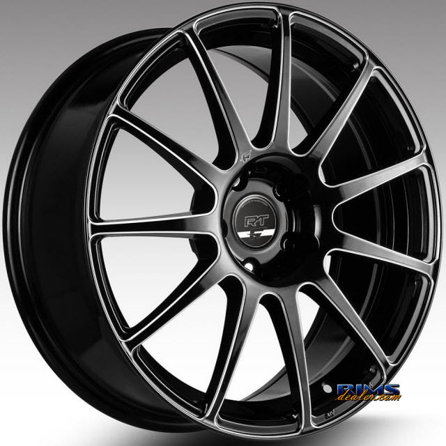 Pictures for FK Ethos Wheels RT-11C black flat