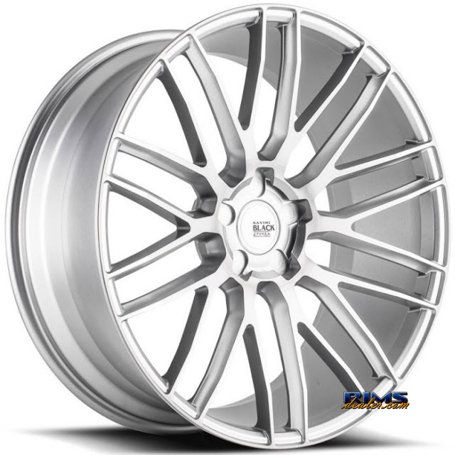 Pictures for Savini Wheels BM-13 - Custom (Add $200ea. for painting) Silver Flat