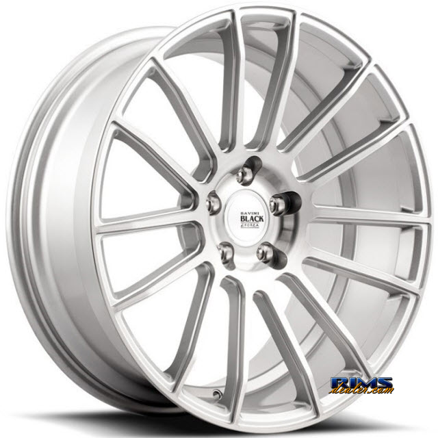 Pictures for Savini Wheels BM-9 - Custom (Add $200ea. for painting) Silver Flat