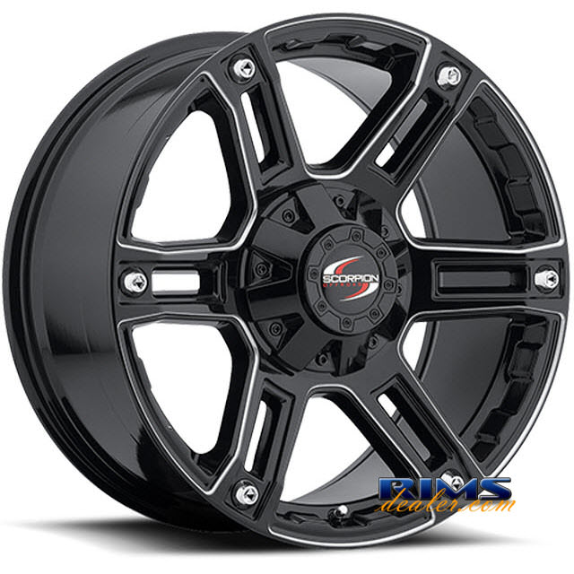 Pictures for Scorpion Off-road SC8 black gloss