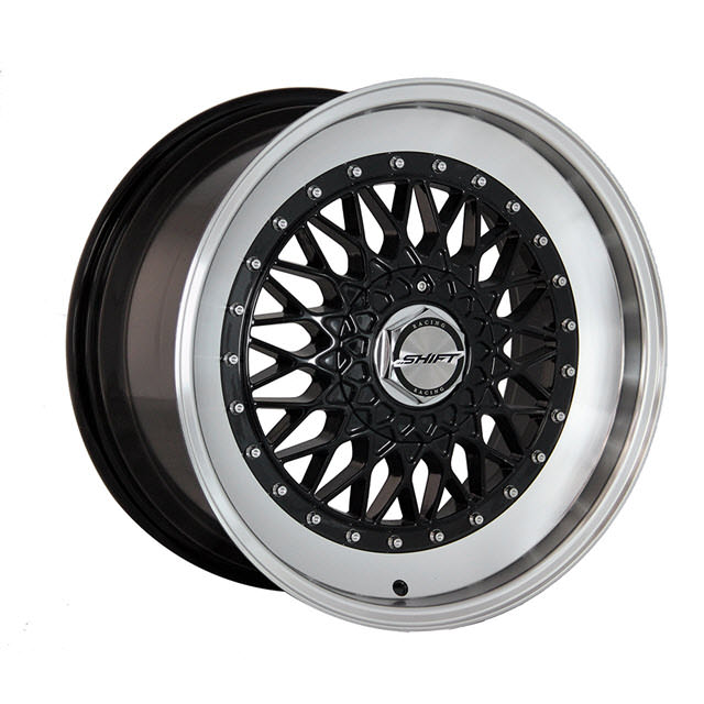 Pictures for Shift Wheels CLUTCH Black Gloss w/ Machined