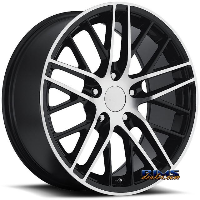 Pictures for Vision Wheel Sport Concepts 862 black flat