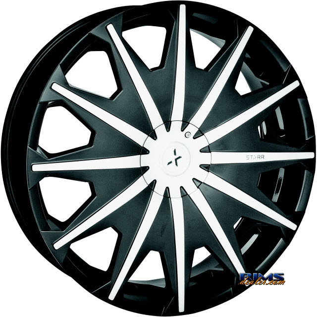 Pictures for STARR ALLOY WHEEL 276 SIG black gloss