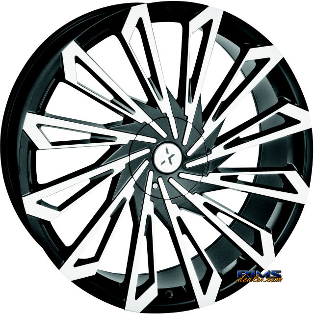 Pictures for STARR ALLOY WHEEL 469 SKS black gloss w/ machined