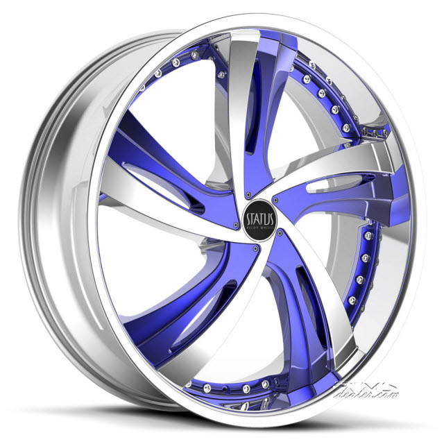 Pictures for STATUS Fantasy S835 - Custom (5-lug only) chrome