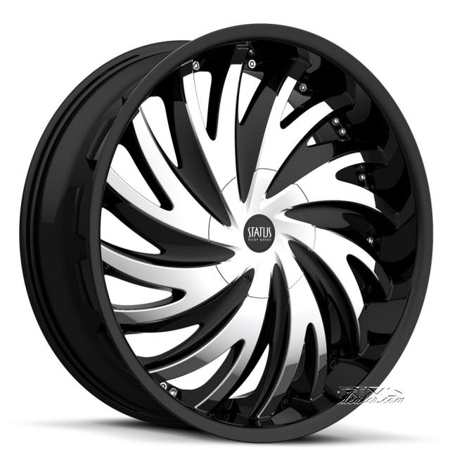 Pictures for STATUS Hurricane S836 black chrome