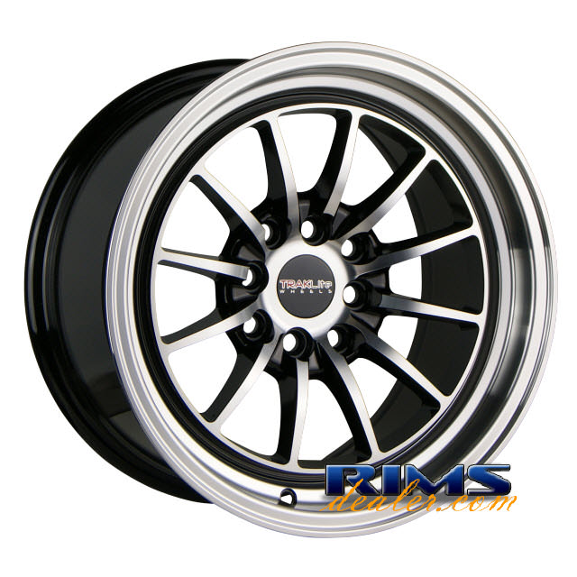 Pictures for TrakLite CHICANE black gloss w/ machined