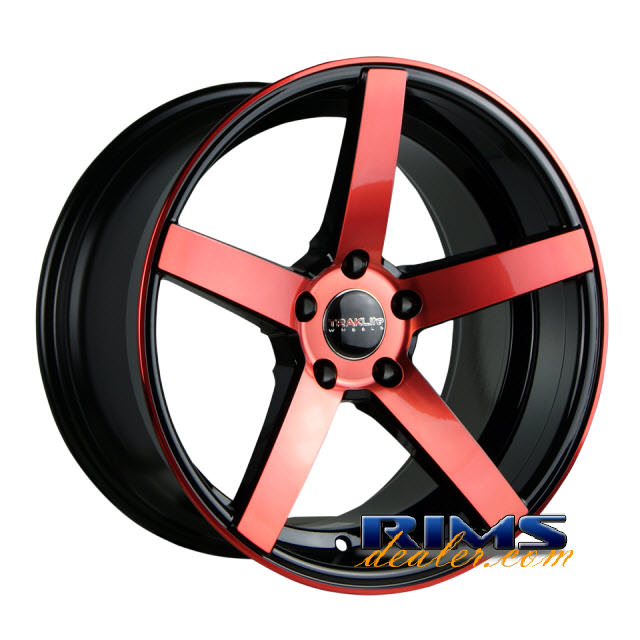 Pictures for TrakLite TRAK-K black gloss w/ red