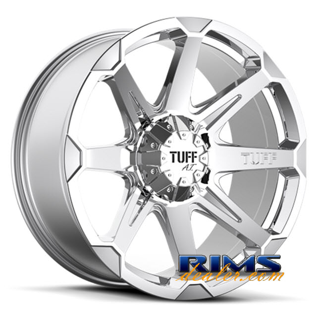 Pictures for Tuff A.T Wheels T05 chrome