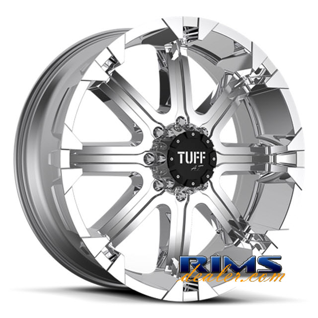 Pictures for Tuff A.T Wheels T13 chrome