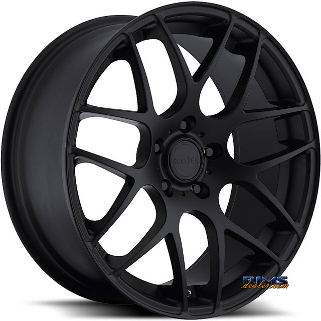 Pictures for euroTEK Wheels UO2 Black Flat
