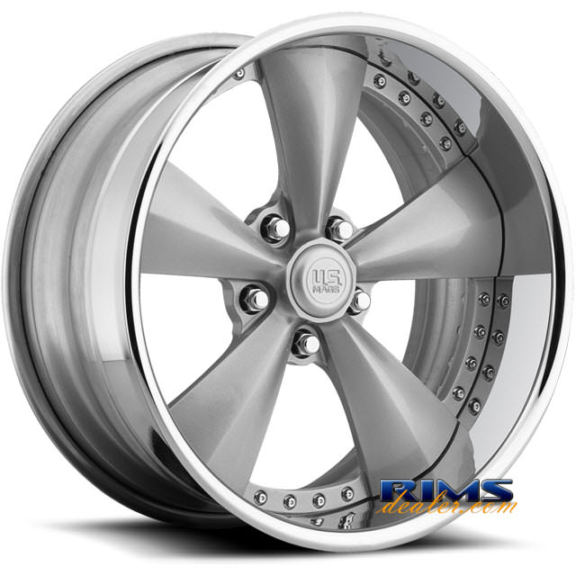 Pictures for US Mags Magnum silver gloss