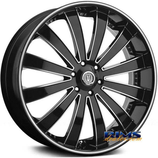 Pictures for Versante 225 machined black w/stripe