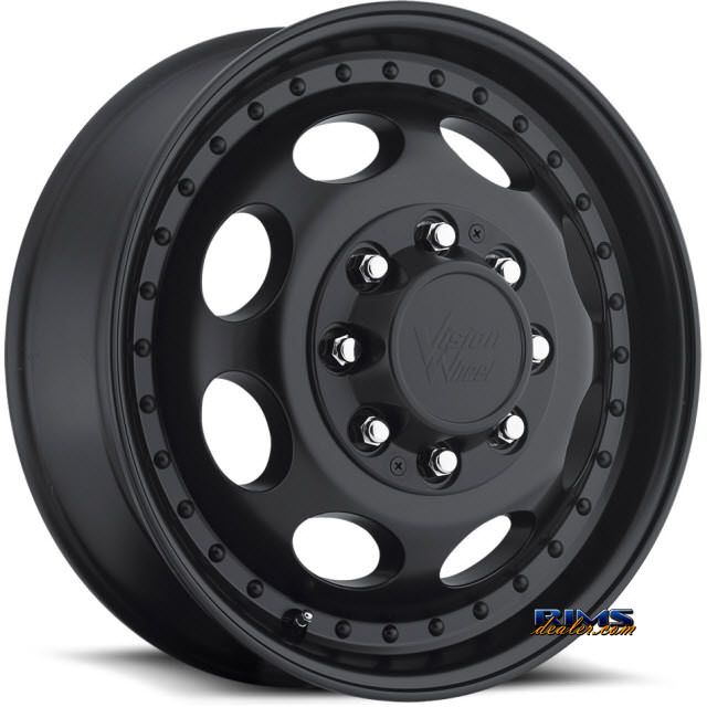 Pictures for Vision Wheel 181H Hauler Dually black flat