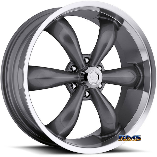 Pictures for Vision Wheel Legend-6 142 gunmetal flat