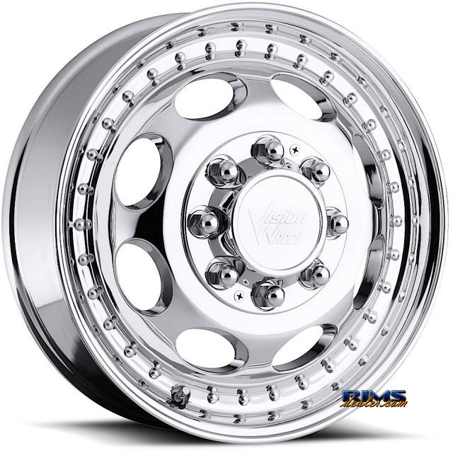 Pictures for Vision Wheel 181H Hauler Dually chrome