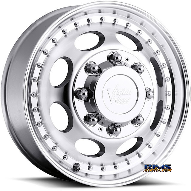 Pictures for Vision Wheel 181H Hauler Dually machined flat